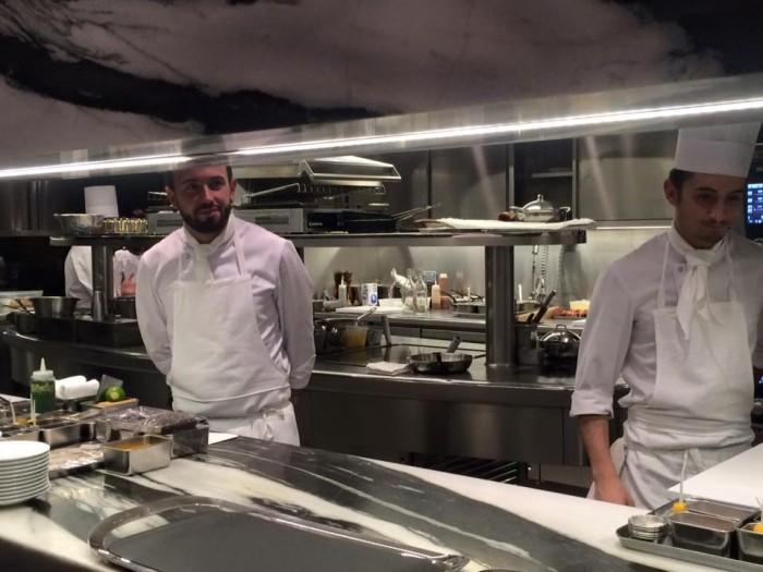 Piege, cucina a vista