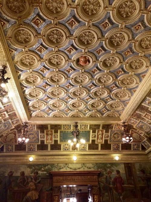 Palazzo Fizzarotti, il soffitto