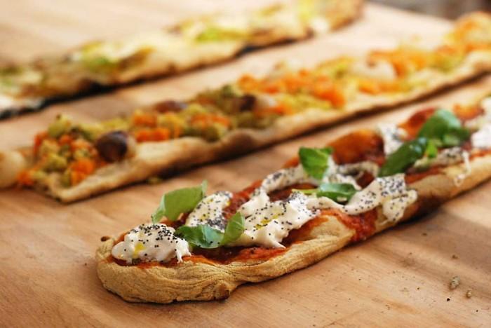 Pane e Tempesta, la pizza