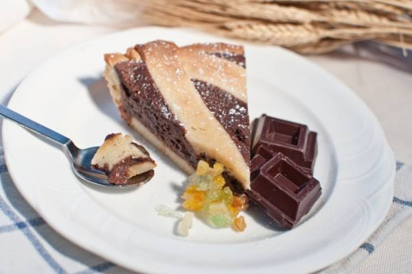 Pastiera Chirico al cioccolato
