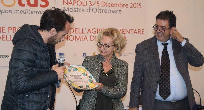 Premio Piatto dell'anno a Francesco Sposito
