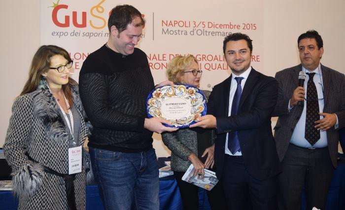 Premio Pizzeria dell'anno a Francesco e Salvatore Salvo