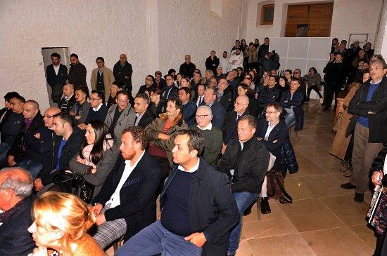 Presentazione delle le Radici Guides 2016, il pubblico durante la conferenza