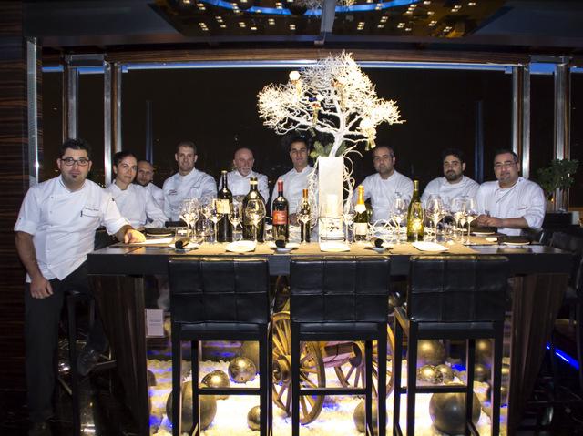 Rome Hotel_Cena Figli delle stelle_chef