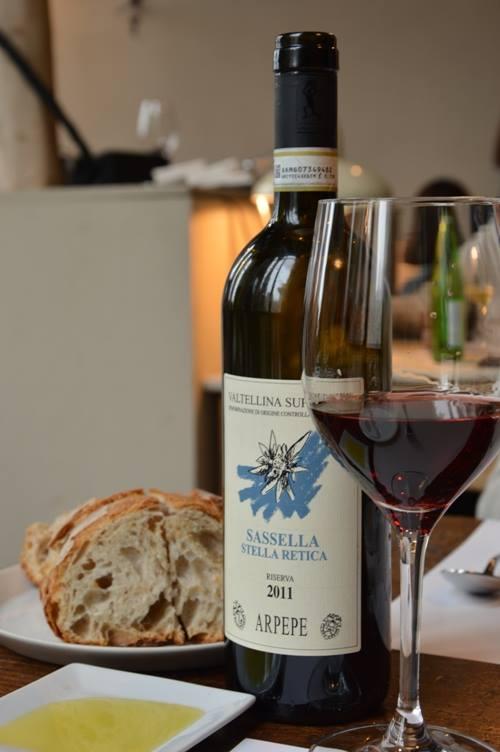 Spazio di Niko Romito, il vino
