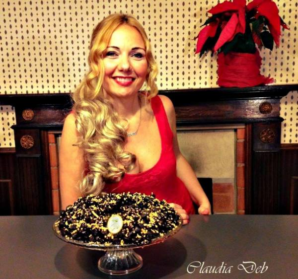Struffoli cacao e rum di Claudia Deb