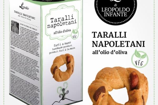 Taralli napoletani vegani di Leopoldo Infante