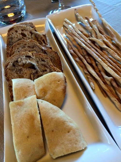 Tenuta Vannulo, pane e grissini