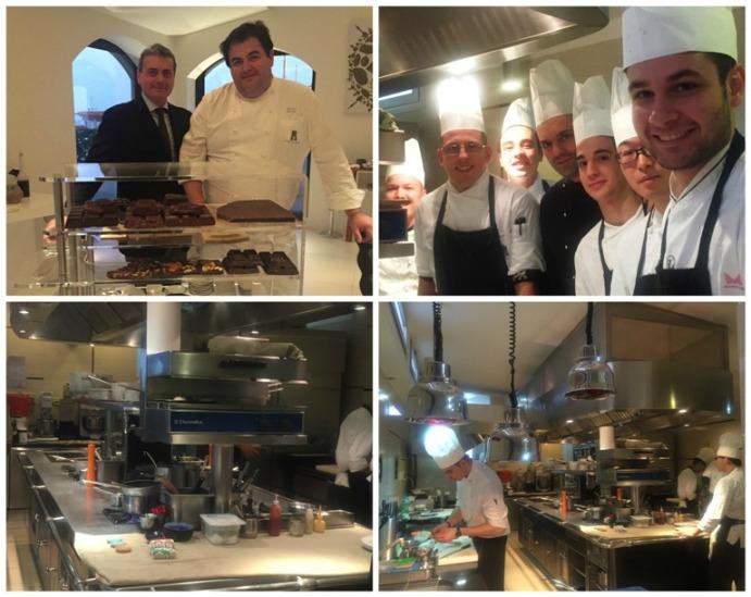 Torre del Saracino, Gennaro Esposito e lo staff in cucina