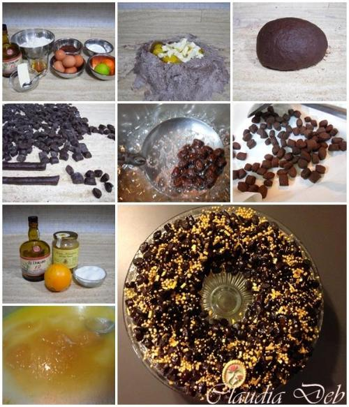 Tutorial struffoli cacao e rum