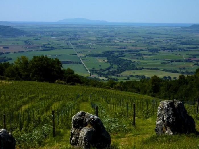 Valdonica, il panorama