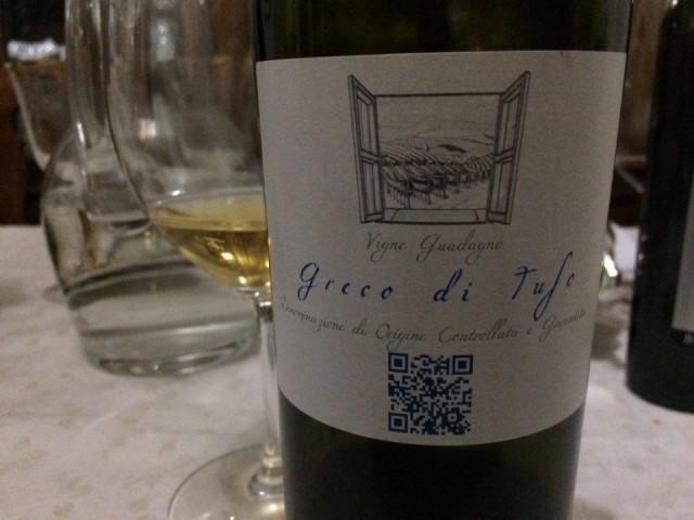 Vigne Guadagno Greco di Tufo
