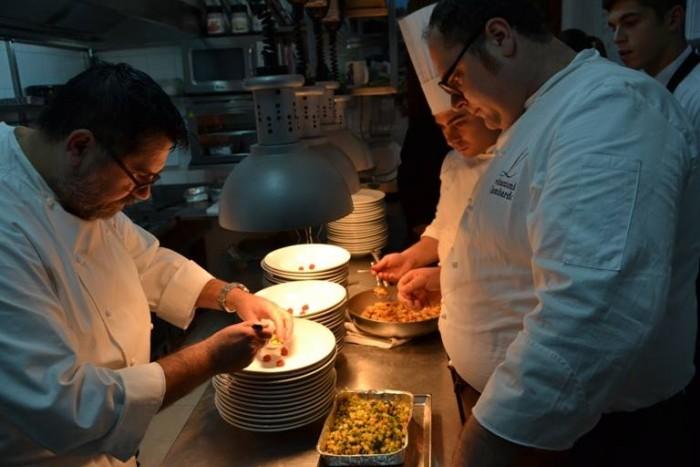 Vitantonio Lombardo e Angelo Sabatelli in Cucina