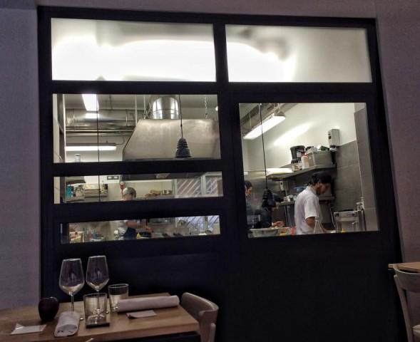 Osteria Fernanda, la cucina a vista