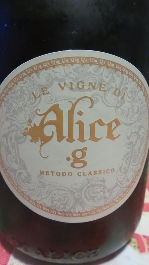 .g metodo classico Le Vigne di Alice