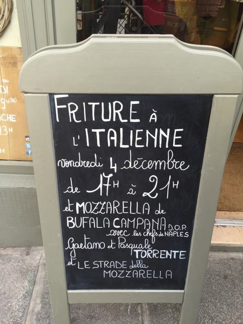 i fritti di Pasquale e Gaetano Torrente a Parigi