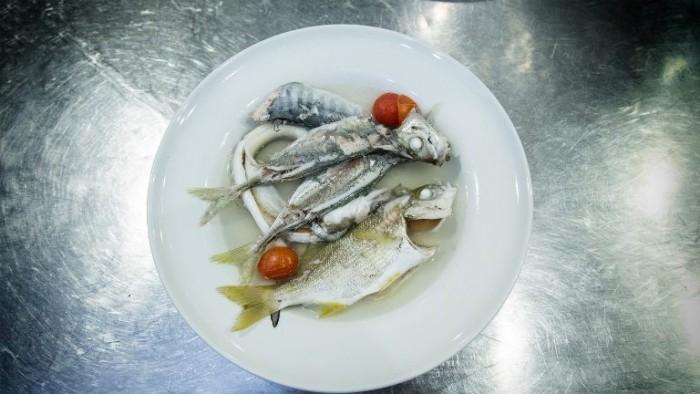 i pesci cotti per preparare O' Carere