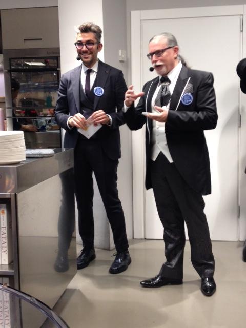 il Dott. Gualerzi e il  Prof. Eugenio Luigi Iorio
