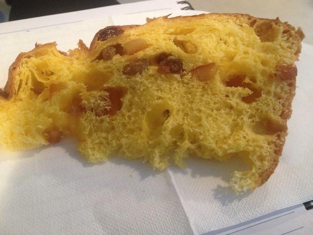 il panettone classico milanese di Davide Comaschi, pasticceria Martesana di Milano