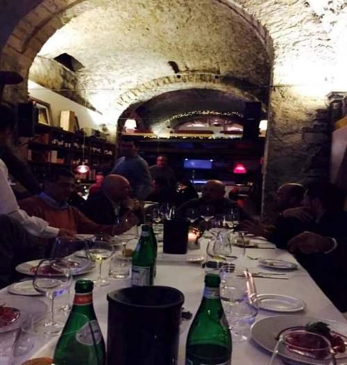 la cena di fine anno della Sezione Campania dell'Associazione Enologi Enotecnici Italiani