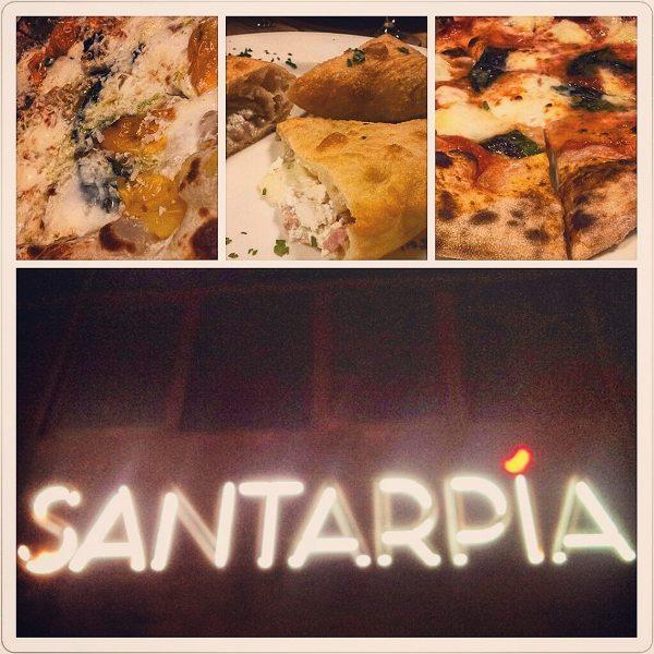 la pizzeria Santarpia a Firenze