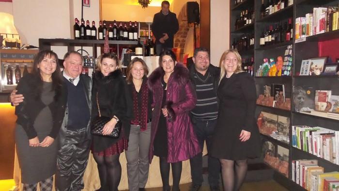la serata con i Taurasi di Salvatore Molettieri, Daniela Mastroberardino e Milena Pepe a Palazzo Lanza