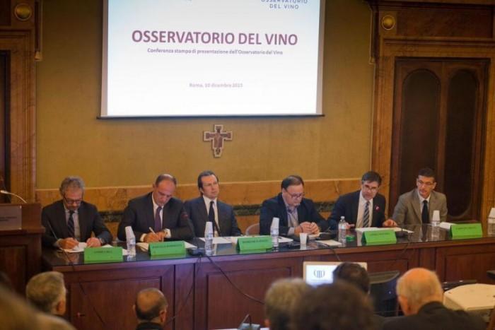 Presentazione dell'Osservatorio del Vino Italiano - foto di Nardo Cestari