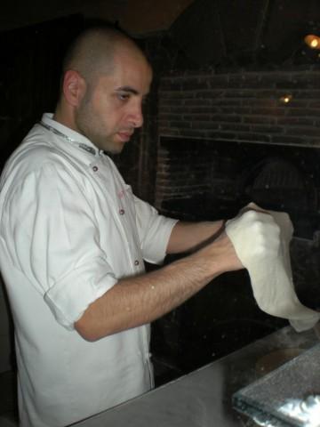 Dario Pascarella il pizzaiolo