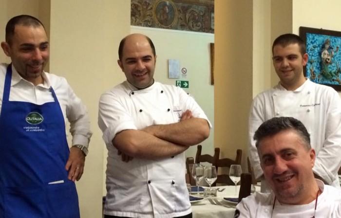 Al Convento, Pasquale Torrente con Gaetano Lamberti, Vittorio Celentano e Domenico Carbone