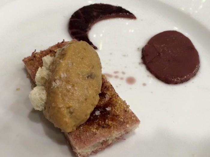 Al Convento, il dessert: fichi, pane e vino