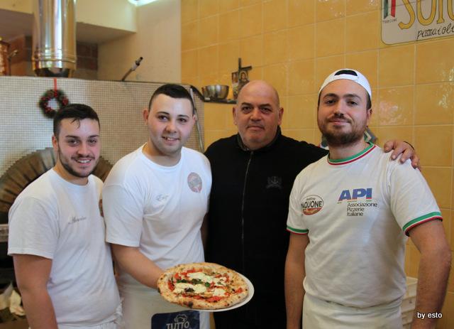 Antonio e Gigi Sorbillo con Vincenzo Iannucci