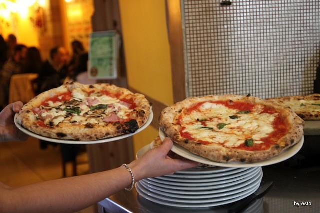 Antonio e Gigi Sorbillo. Pizze