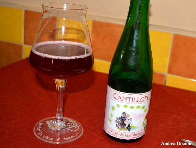 B-ZONE & La Taverna di Bacco. La Rosé de Gambrinus di Cantillon.