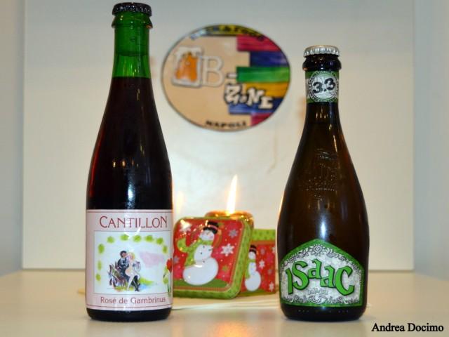 B-ZONE & La Taverna di Bacco. Le due birre della serata.