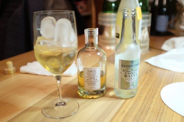 Bottura, Vermouth bianco e tonica