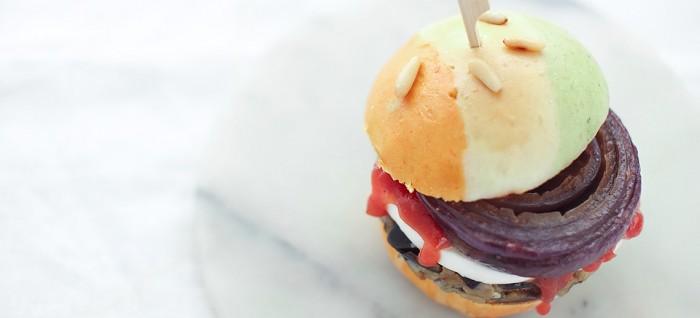 Burger buns all'italiana