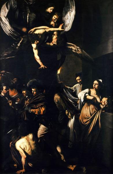 Caravaggio Le Sette opere di Misericordia (1607, Napoli)