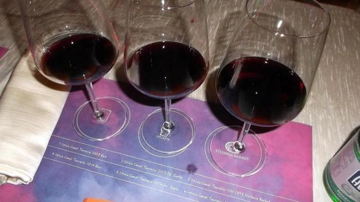 Comuni nel Vino all'Hotel Columbus, i vini