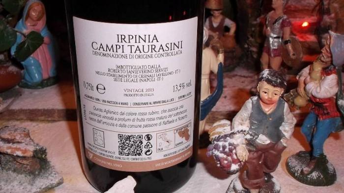 Controetichetta Raro Irpinia Campi Taurasini Doc 2013 Sanseverino