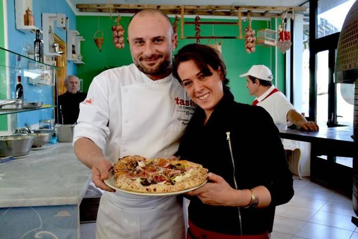 Faby Scarica con Giuseppe Pignalosa