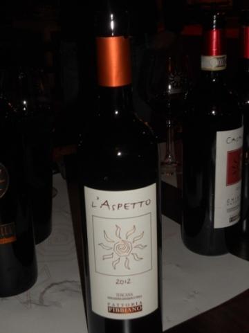 Fattoria Fibbiano, L'Aspetto 2012