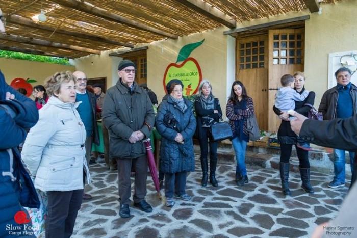 Festa del Paniere Flegreo, il laboratorio sulla Spesa per Slow Food, condotto da Vito Trotta, componente della Condotta Slow Food Campi Flegrei