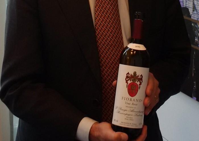 Fiorano Rosso 2010 Principe Alessandrjacopo Boncompagni Ludovisi