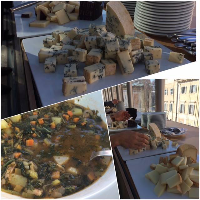 Formaggi e zuppe da gustare con pane e olio del Lazio