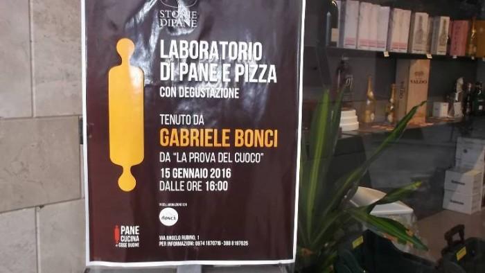 Gabriele Bonci a Storie di Pane a Vallo della Lucania, la locandina