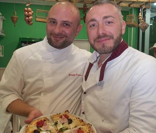 Gennaro Nasti con Giuseppe Pignalosa