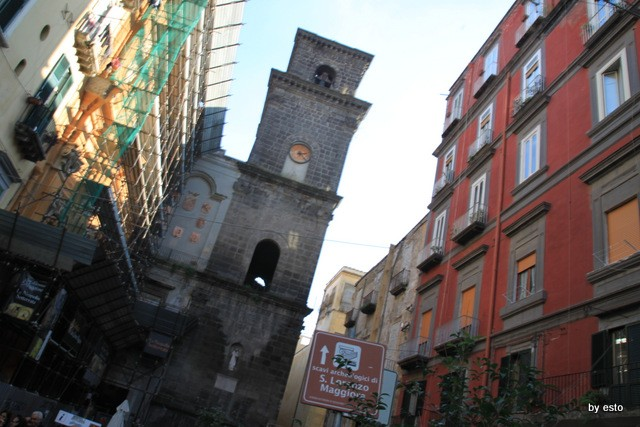 Napoli Via dei Tribunali  San Lorenzo Maggiore
