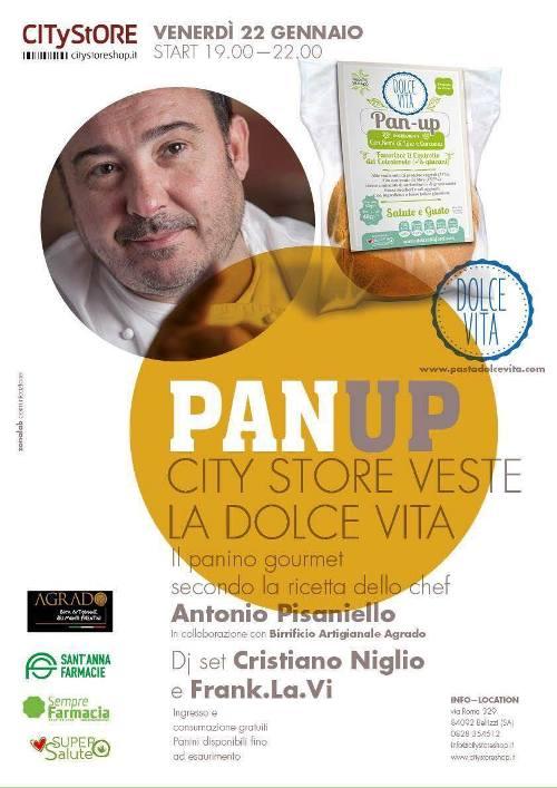 Il Panino Dolce Vita secondo la ricetta di Antonio Pisaniello da City Store a Bellizzi