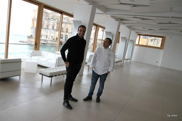 Il nuovo Palazzo Petrucci a Villa Donn'Anna. Edoardo Trotta e Lino Scarallo