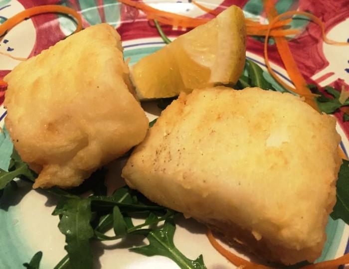 Locanda del Cerriglio, il baccalà fritto